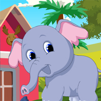 Free online flash games - G4K Cute Elephant Rescue