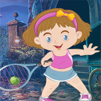 Free online flash games - G4K Baby Tennis Player Rescue  game - WowEscape