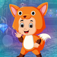 Free online flash games - G4K Fox Costume Girl Escape