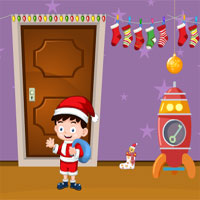 Free online flash games - Little Santa House Escape Games4Escape