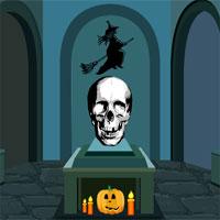 Halloween Skull Door Escape TollFreeGames