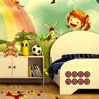 Free online flash games - New Kids Room Escape