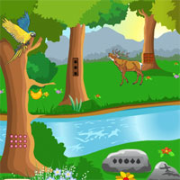 Free online flash games - Jungle Forest Escape MeenaGames