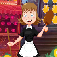 Free online flash games - G4K Cleaning Lady Rescue