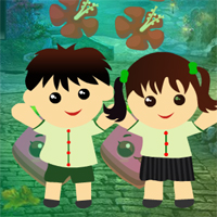 Free online flash games - G4K Twin Children Escape