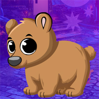 Free online flash games - Games4king Tranquil Bear Cub Escape game - WowEscape