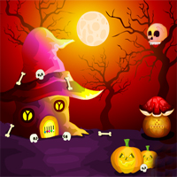 game name mirchigames fantasy halloween escape