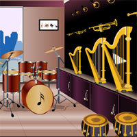 Free online flash games - Instrument Showroom Escape