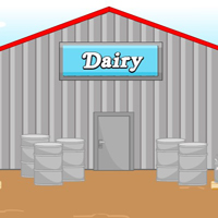 Free online flash games - MouseCity Dairy Farm Escape