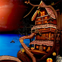Free online flash games - NsrEscapeGames Halloween Bone Magic game - WowEscape