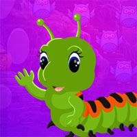 Free online flash games - G4K Green Worm Escape Game game - WowEscape
