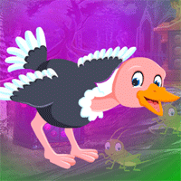 Free online html5 games - Games4King Ostrich Escape game