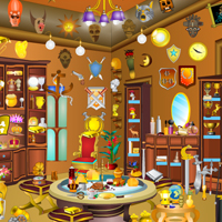 Free online flash games - Messy Antique Room Hidden Objects game - WowEscape
