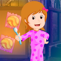 Free online flash games - Games4king Find Good Morning Girl
