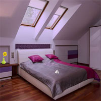 Modern Attic House Escape