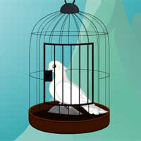 Free online flash games - Dove Rescue From Cage TheEscapeGames game - WowEscape