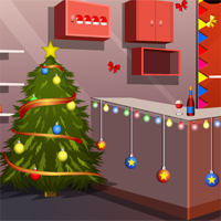 Free online flash games - GenieFunGames Find Surprise Christmas Gift game - WowEscape