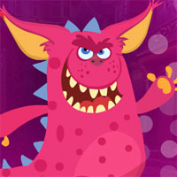 Free online flash games - G4K Pink Creature Escape
