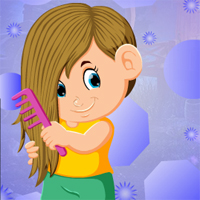 Free online html5 games - Games4king Pretty Combing Girl Escape game