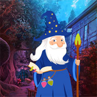 Free online flash games - G4K Wizard Rescue