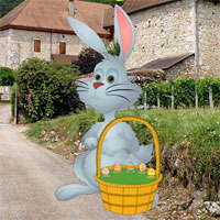 Free online flash games - Big Easter Bunny Land Escape game - WowEscape