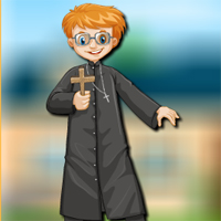 Free online flash games - AVMGames Child Priest Escape game - WowEscape