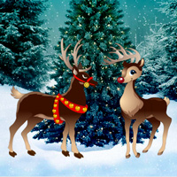 Free online flash games - Games2rule Christmas Reindeer Rescue