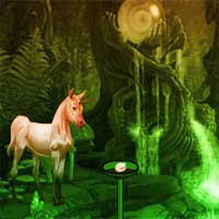 Free online flash games - Unicorn Fantasy Valley Escape game - WowEscape