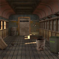 Free online flash games - 5n Abandoned Goods Train 3 game - WowEscape
