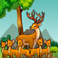 Free online flash games - G4E Deer Adventure Escape game - WowEscape