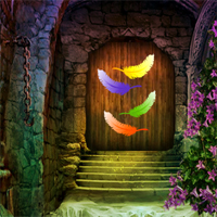 Free online flash games - Colorful Feathers Escape