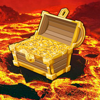 Free online flash games - Volcano Treasure Hunt Escape