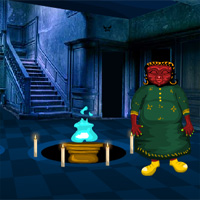 Free online flash games - Scary Witch House Escape Games4Escape