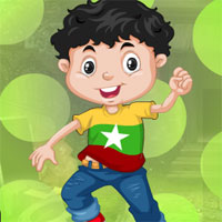 Free online flash games - G4K Joyous Boy Escape