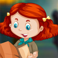 Free online flash games - Avm Rescue The Reading Girl Escape game - WowEscape