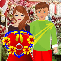 Free online flash games - Romantic Christmas Gift for Girlfriend game - WowEscape