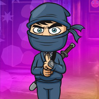 Free online html5 games - G4K Affable Ninja Escape game