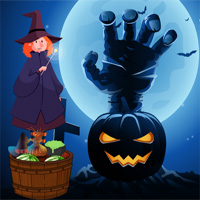 Free online flash games - ZooZooGames Halloween Trick Or Treat Escape