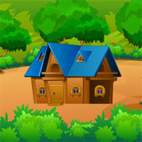 Free online flash games - Ancient Wooden House Escape