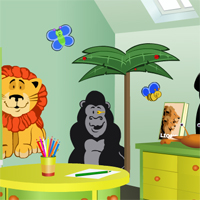 Free online flash games - Escape from Preschool