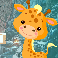 Free online flash games - Petite Giraffe Rescue
