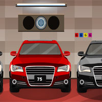 Free online flash games - GFG Modern Car Garage Escape game - WowEscape