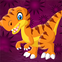 Free online flash games - Games4king Velociraptor Dinosaur Escape game - WowEscape