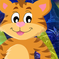 Free online flash games - G4K Amiable Tiger Escape