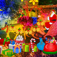 Free online flash games - Christmas Eve Tracking Santa Escape
