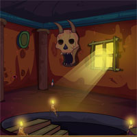 Free online flash games - Ena The Circle 2-Skull Fort Escape game - WowEscape