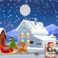 Free online flash games - Find The Christmas Shoe
