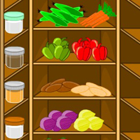 Free online flash games - MouseCity  Clever Kitchen Escape