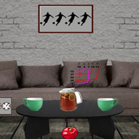 Free online flash games - G2J Simple Modern Room Escape