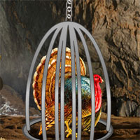 Thanksgiving Turkey Cave Escape YolkGames